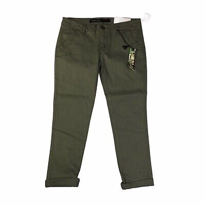 $17.60 • Buy Freestyle Revolution Olive Green Skinny Stretch Trouser Pants NWT Size 7