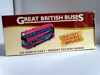 ATLAS BY CORGI Great British Buses Go North East Wright Eclipse Gemini NEW • 32£