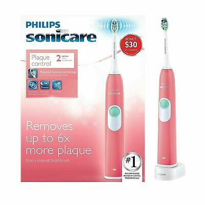 AU57.32 • Buy Philips Sonicare Plaque Control 2 Series Electric Sonic Toothbrush HX6211/47