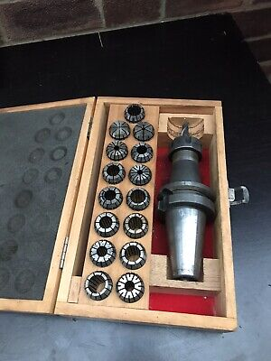 16X COLLET And Collet CHUCK  ER25  Mill Arbor Tool CNC Milling Machine • 45£