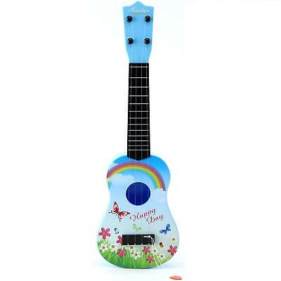 Childrens 21'' Blue Acoustic Guitar Kids Toy Musical Instrument Childs Xmas Gift • 12.99£