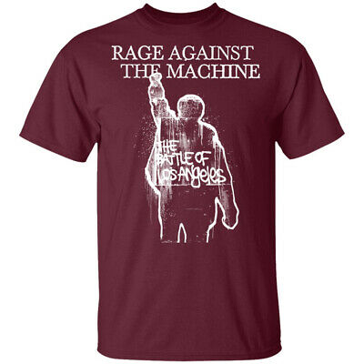 Rage Against The Machine 'BOLA Album Cover' (Maroon) T-Shirt - NEW & OFFICIAL! • 13.99£