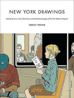 New York Drawings, Adrian Tomine • 11.33£