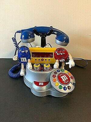 $32.30 • Buy M&M Telephone Phone AM/FM Radio Alarm Clock Snooze Button - Preowned – Tested