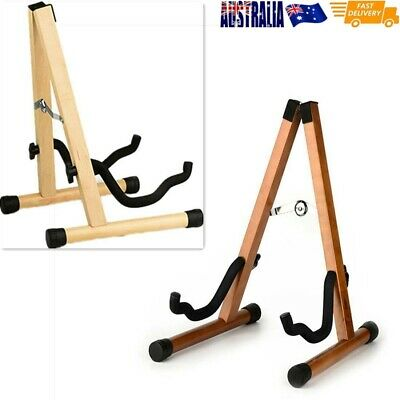 AU30 • Buy Folding Wooden Folding A-Frame Guitar Stand Solid Bass Guitars Electric