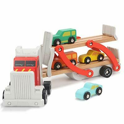 £28.99 • Buy TOP BRIGHT Wooden Truck Toys For 2 Year Old Boys Gifts, Wooden Car Toy For Two