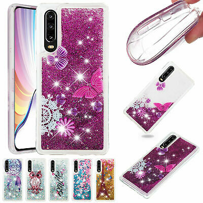 AU16.14 • Buy For Huawei Y6 Y7 Y9 Prime 2019 P30 P20Pro Bling Quicksands TPU Rubber Case Cover