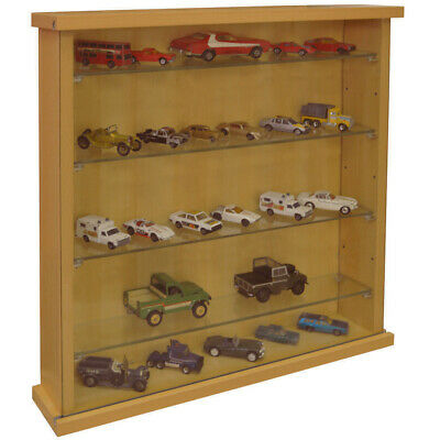 Display Cabinet With Four Glass Shelves Beech 3327oc • 57.99£
