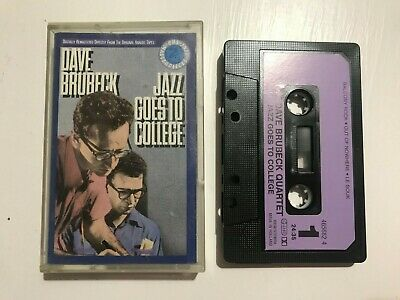 Dave Brubeck - Jazz Goes To College (Audio Cassette Tape) • 3.49£