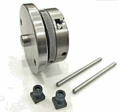 AU85.22 • Buy 65mm 3 Jaw Self Centering Chuck With Back Plate Milling High Quality Free Shippi