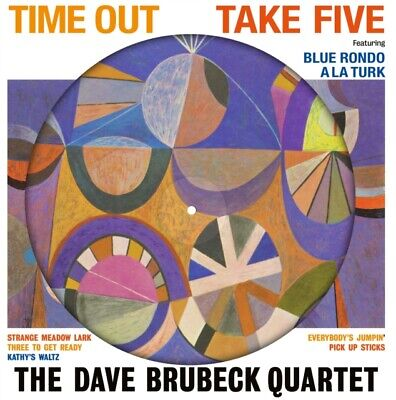 The Dave Brubeck Quartet - Time Out - Picture Disc Vinyl Record LP (NEW) • 14.95£