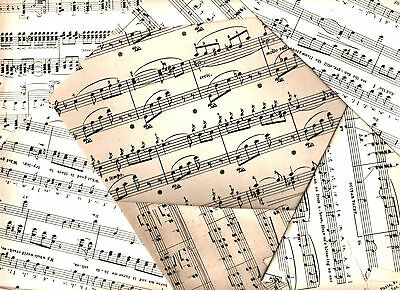 £3.35 • Buy Vintage Sheet Music Crafting Paper Decoupage Scrapbooking Card Notes Pages Art
