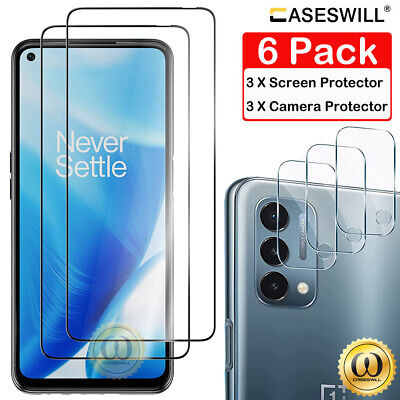 AU6.77 • Buy For OnePlus Nord 2 N200 N10 CE 5G N100 9H Tempered Glass Full Screen Protector