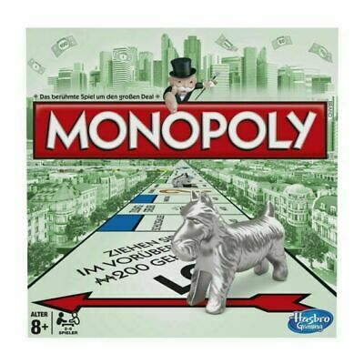 Monopoly Board Game Classic 2013 Version From Hasbro, Multicolored Gift Set • 36.99£