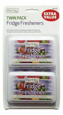 2 X Fridge Freshener Deodoriser Kitchen Air Remove Smell Eliminate Bad Odour New • 2.58£