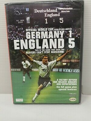 £4.99 • Buy Germany 1 England 5 DVD World Cup Qualifier Football New Sealed