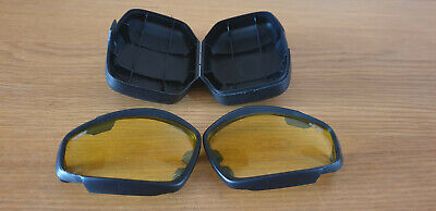 £9.99 • Buy British Army ESS V12 Tactical Advancer Goggles  Replacement Yellow Lens