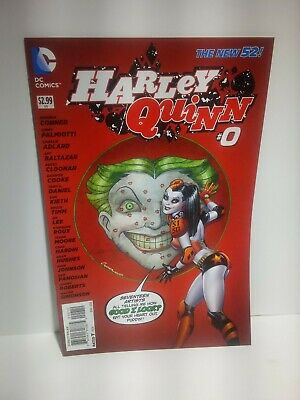 $ CDN14.50 • Buy Harley Quinn #0 New 52 2nd Print (DC 2014) NM Amonda Conner