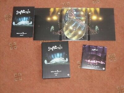 Genesis When In Rome 2007 3 Dvd Set Very Good Condition • 30£