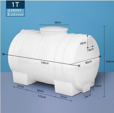 AU1295.55 • Buy Fire Fighting Or Transport-1000 Litres Water Tank Brand  Fit On Ute Or Trailer