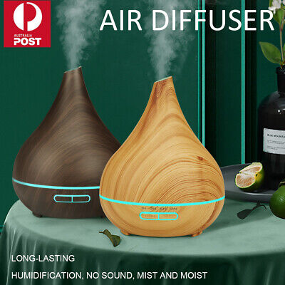 AU26.59 • Buy Aroma Aromatherapy Ultrasonic Diffuser Oil Electric Air Humidifier Essential LED