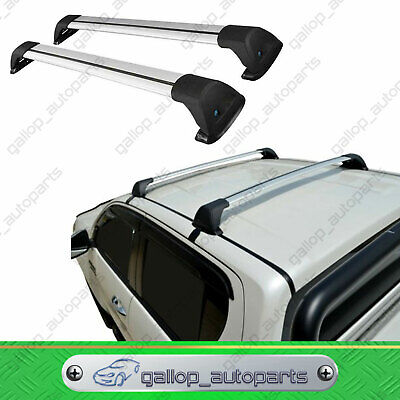 AU160.20 • Buy Aerodynamic Roof Rack Cross Bar For Mitsubishi Triton 2006-2015 MN ML Series