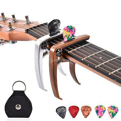 AU13.64 • Buy Professional Guitar Capo Quick Change Clamp Key Electric Guitar Ukuleles