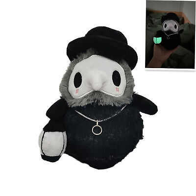 £8.79 • Buy Props Hand GLOW IN DARK Plague Doctor Toys Soft Plush Doll 20cm Halloween Gift