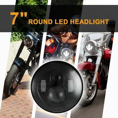 AU60.46 • Buy DOT 7 Inch Round LED Headlight  Projector Motorcycle For Harley-Davidson