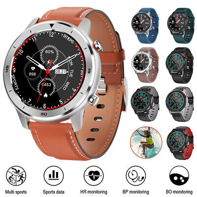 AU47.95 • Buy Bluetooth Smart Watch Heart Rate Monitor For Samsung IPhone Waterproof Fitness