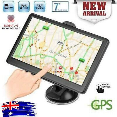 AU83.99 • Buy New AU Maps 7  Truck Car GPS Navigator 8GB 256MB  Navigation System Sat Nav Free