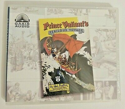 Prince Valiant's Perilous Voyage By Harold Foster (English) MP3 CD Book  • 4.34£
