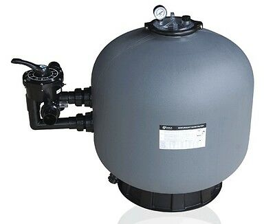Swimming Pool Sand Filter 18 ,21 ,25 ,28  Ce & Tuv Side Mount With Glass Media • 247.97£