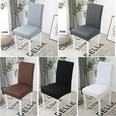 AU4.49 • Buy Stretch Dining Chair Cover Removable Slipcover Washable Banquet Event Covers NEW