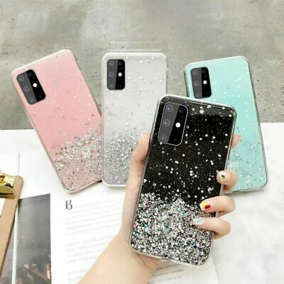 $ CDN7.43 • Buy Glitter Soft TPU Case For Samsung Galaxy S8 S9 S10 S20 GLITTER BLING Shockproof