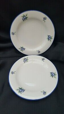 Royal Doulton Blueberry Everyday Collection SIDE PLATES X 2 • 8.99£