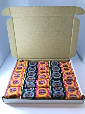 £5.99 • Buy 50 Black Jacks And Fruit Salads In White Hamper Retro Sweets Birthday Gift Candy