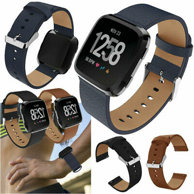$ CDN14.99 • Buy Leather Replacement Wristband Watch Band Strap For Fitbit Versa / 2 /Versa Lite
