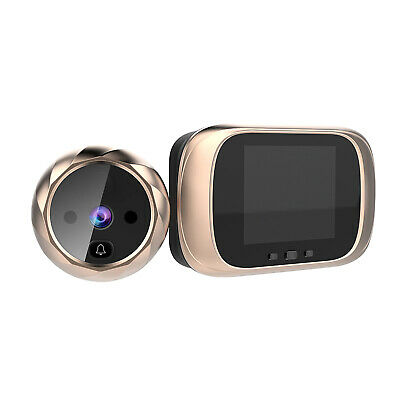 Digital Door Viewer Peephole Door Camera Doorbell 2.8-inch LCD Screen Night S8B3 • 21.79£