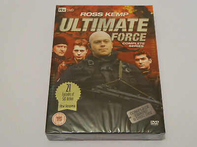 Ultimate Force: The Complete Series 1-4 Collection - NEW / SEALED UK DVD BOX SET • 32.99£