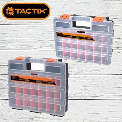 AU17.99 • Buy Tactix 22 Compartment Tool Organiser Storage Box, Choice Of 310mm Or 380mm
