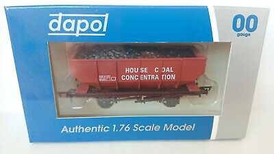 DAPOL 4F-034-005 House Coal CONC 21T Hopper Wagon NEW • 9.95£