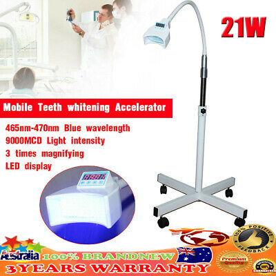 AU146.20 • Buy 220V Dental Teeth Whitening Machine Lamp Bleaching LED Cold Light Accelerator