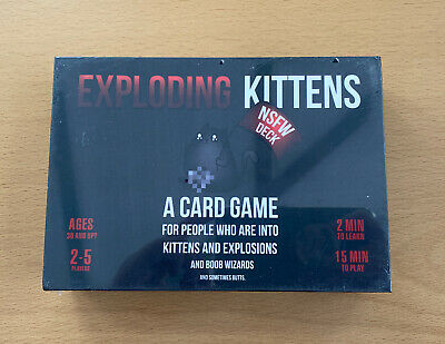 AU36.05 • Buy Exploding Kittens: NSFW Edition New And Sealed