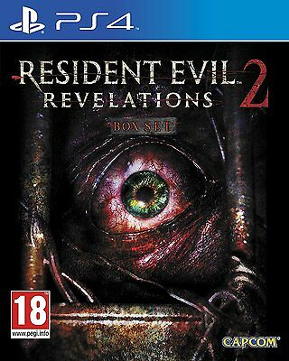 £13.99 • Buy Resident Evil Revelations 2 PS4 PS5 PlayStation 4 5 Game Complete Set New Sealed