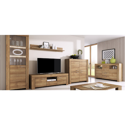 Living Room Furniture Set Tv Unit Display Stand Wall Mounted Cupboard Cabinet • 440£