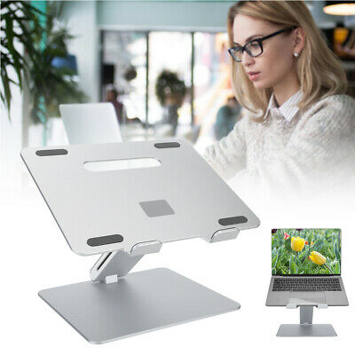 Laptop Table Stand Desk Tray Cooling Holder Aluminum Folding Notebook Bracket • 43.57£