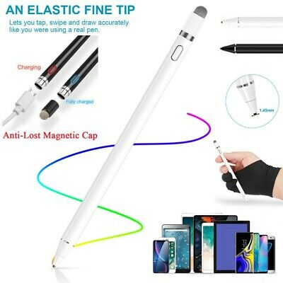 Rechargeable Touch Screen Magnetic Pen Stylus Pencil For Apple IPad Tablets • 12.89£