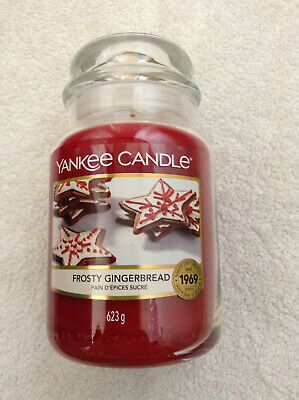 Yankee Candle 'Frosty Gingerbread' Large Jar • 21.95£