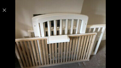 John Lewis Anna Dropside Cot - Good Condition • 40£